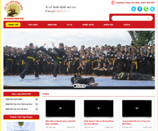 Website of the dojo Phan Tho